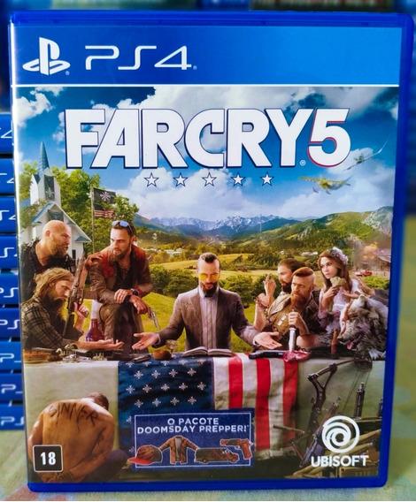 Far Cry 5 Ps4 - Jogo Mídia Física Em Português Dublado
