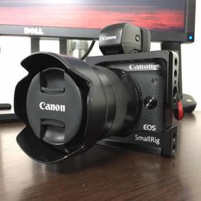 Canon Eos M6 C/acessorios! Ef-m Vello - Somente Corpo! Frete