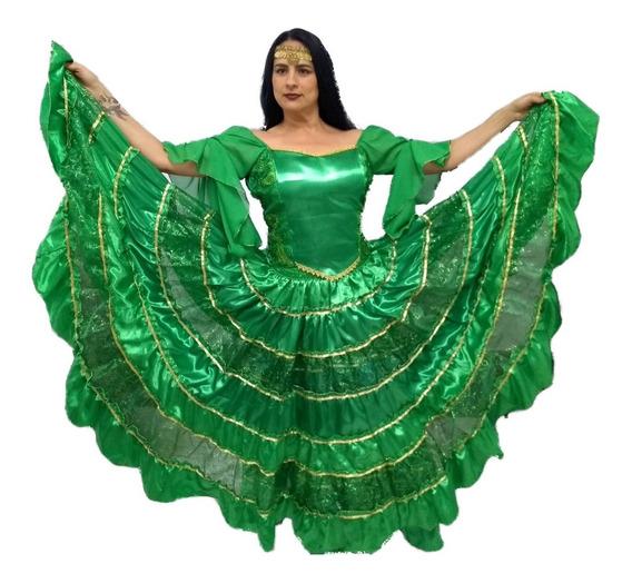 Roupa Cigana Esmeralda 01-0048