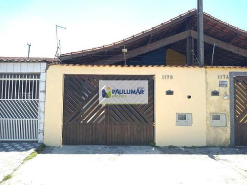 Casa Com 2 Dorms, Balneário Jussara, Mongaguá - R$ 225 Mil, Cod: 829971 - V829971