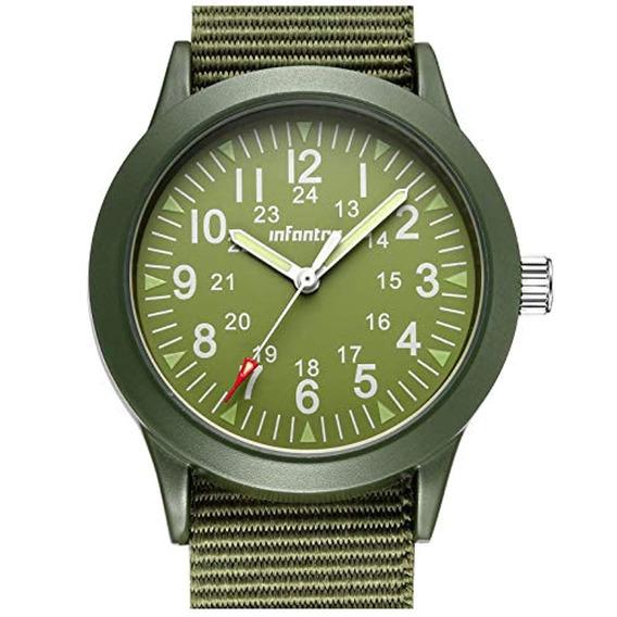 Infantry Infantry Reloj Militar Para Hombre