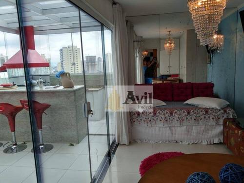 Cobertura Com 2 Dormitórios À Venda, 167 M² Por R$ 750.000,00 - Tatuapé - São Paulo/sp - Co0079