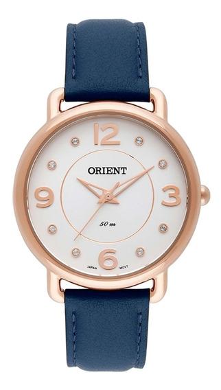 Relógio Feminino Orient Analógico Frsc0006 S2dx Dourado