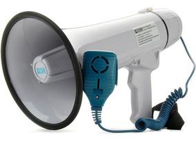 Megafone Csr Hmp1503 20w Com Microfone De Mão E Sirene