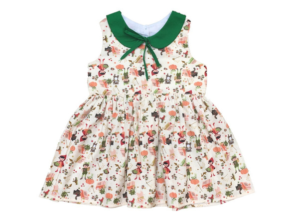 Vestido Infantil - Modelo Boneca Rodado