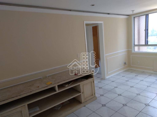 Apartamento Com 2 Dormitórios À Venda, 60 M² Por R$ 250.000,00 - São Lourenço - Niterói/rj - Ap4013