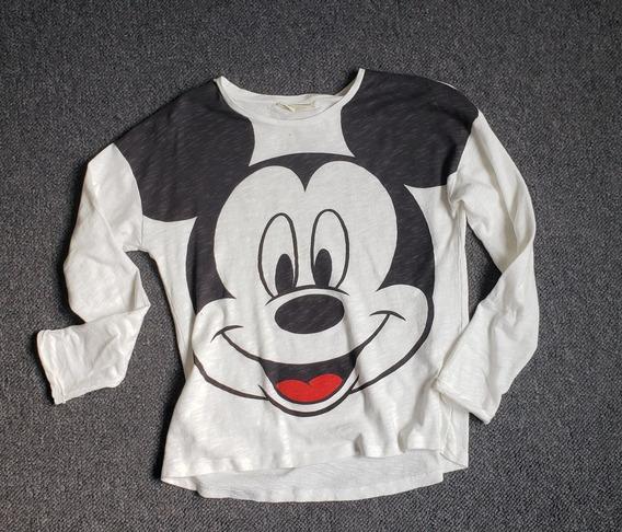 Niña Talla 11-12 Años Playera Mickey Mouse Zara