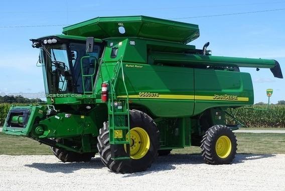 Trilladora John Deere 9560 Sts ; Trilladora Agricola