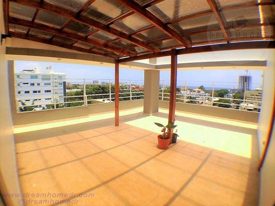 Gazcue, Nuevo, Moderno Penthouse Vista Mar Y Ciudad. Id 2104