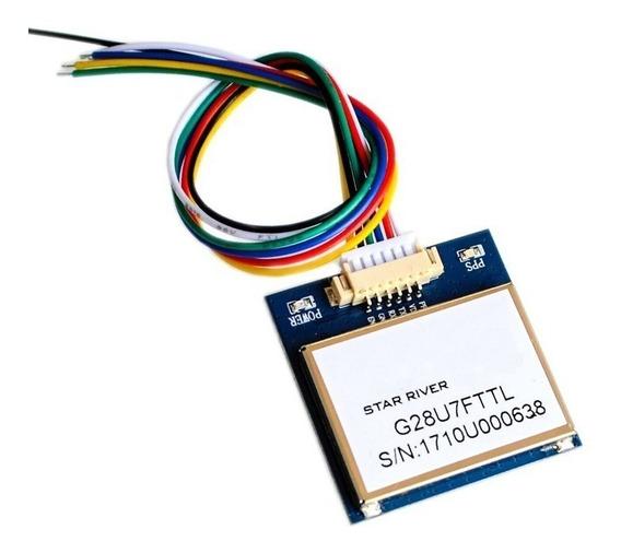 Modulo Gps G28u7fttl = Vk2828u7 Antena Ttl 1-10hz Arduino