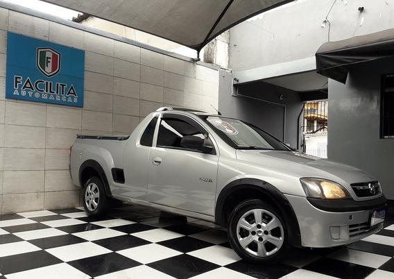 Chevrolet Montana 1.8 Flexconquest Com Direção E Pneus Novos