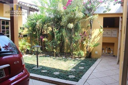 Imagem 1 de 30 de Sobrado Residencial À Venda, Parque Santana, Mogi Das Cruzes - . - So0085