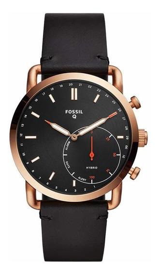 Fossil Commuter - Reloj Inteligente Hibrido De Acero Inoxida