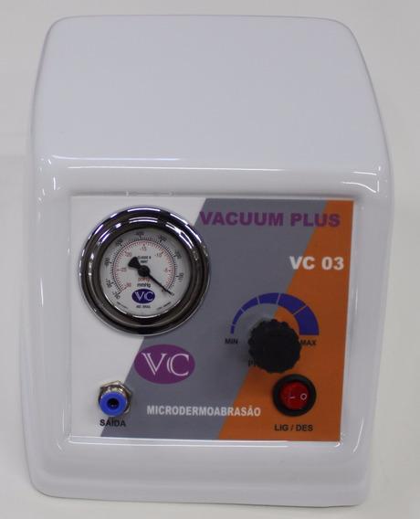 Vacuo Vc03 Portatil Com Kit Gluteos E Kit Extrator De Cravos