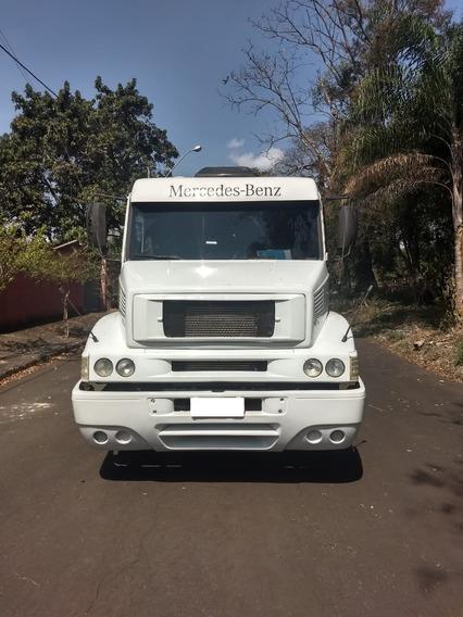 M.benz 1634-ls 04/04 Branco Gustavo-caminhões