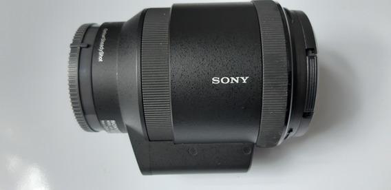 Lente Sony E-pz 18-200 Com Ponto De Fungo