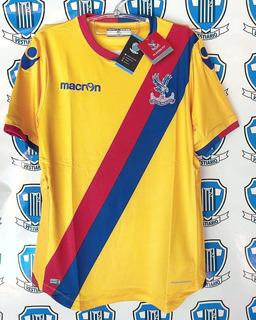 Crystal Palace Inglaterra Macron Camisa Jogo Nova + Etiqueta