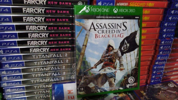 Assassins Creed Iv 4 Black Flag - Xbox One - Mídia Física