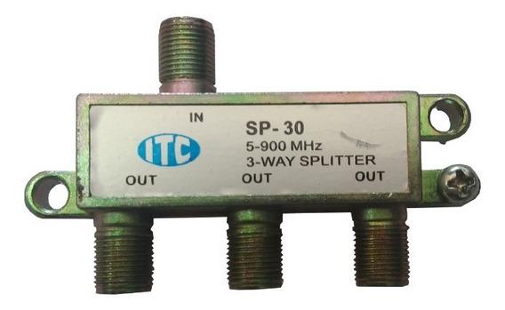 Divisor Itc 1×3 Pacote Com 10 Unidades
