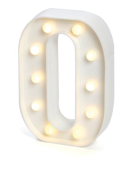 Número De Led 0 A 9 De Led Branco