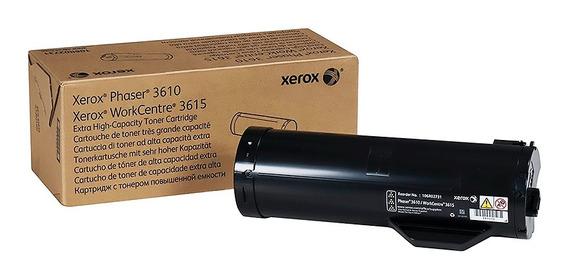 Toner Xerox 3610 Original Phaser Impresora 106r02732
