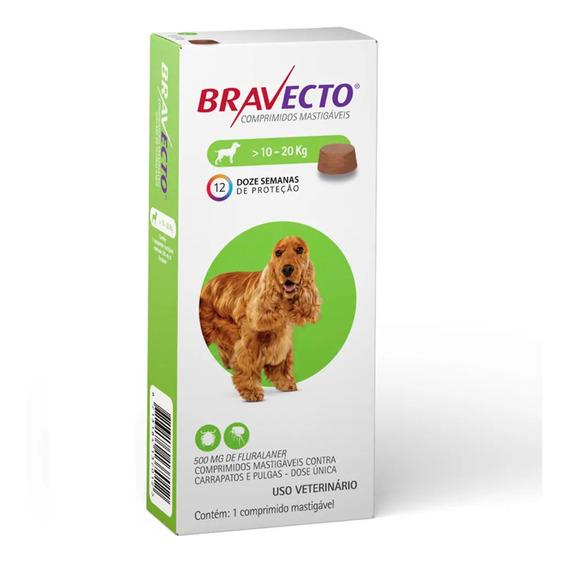 Bravecto Original Para Cães De 10 A 20kg