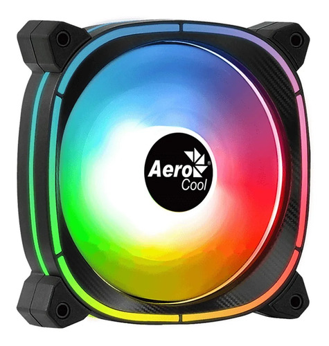 Imagen 1 de 2 de Cooler Fan Gamer Aerocool Astro 12f Argb 120 Mm