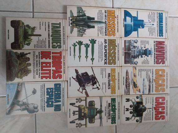Livro Antigo - Guias De Armas De Guerra *11 Livros Raro*
