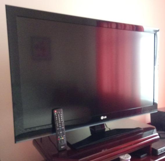 Tv 42 Lcd Lg 42lk450 Full Hd C/ Entradas Hdmi E Usb Conver