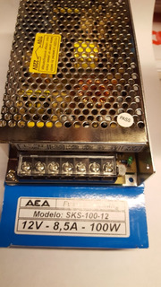 Fuente 12v-8,5a-100w Switching Marca Aea Soultec