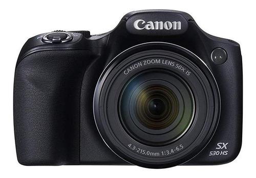 Canon PowerShot SX530 HS compacta avanzada color negro