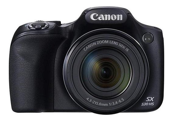 Canon PowerShot SX530 HS compacta avanzada negra