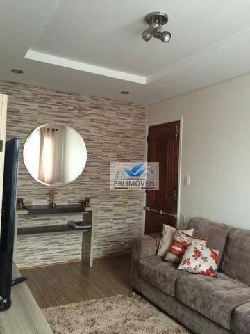 Apartamento À Venda, 79 M² Por R$ 255.000,00 - Jardim Independência - São Vicente/sp - Ap1044