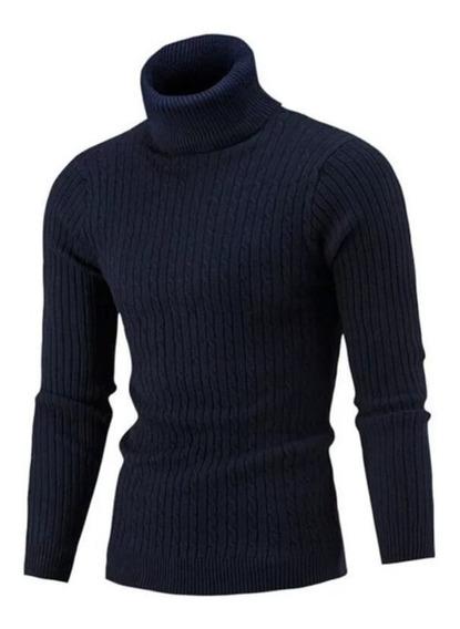 Sueter Cuello De Tortuga Invierno Sweaters Para Hombre