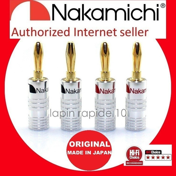 20 Plugs Nakamichi Made In Japan -receiver E Caixas