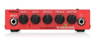 T.c Electronic Bam200 Amplificador. P/bajo