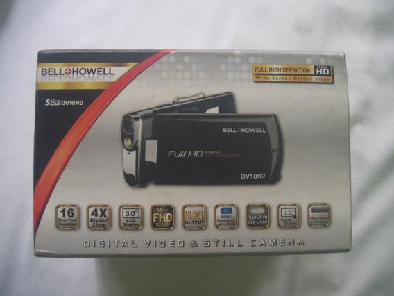 Videocámara Digital Full Hd Slice Dv10hd De Bell & Howell