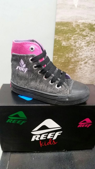 Zapatillas Botitas Reef Doble Tela. Talle 27 Al 35