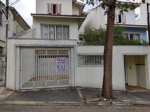 Imagem 1 de 29 de Sobrado, 258 M² - Venda Por R$ 1.400.000,00 Ou Aluguel Por R$ 7.000,00/mês - Tatuapé - São Paulo/sp - So6576