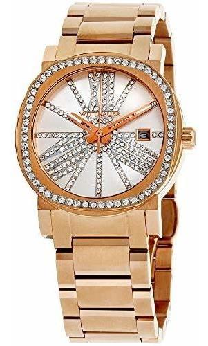 Wittnauer Wn4008 - Reloj Con Bisel Y Esfera De Oro Rosa