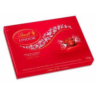 Chocolate Recheado Lindt Lindor Ao Leite 300g