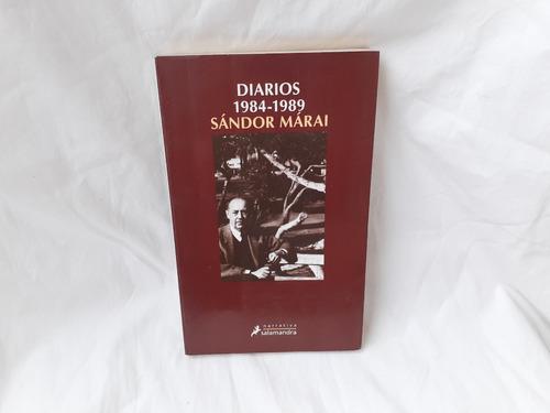 Imagen 1 de 4 de Diarios 1984 1989 Sandor Marai Salamandra