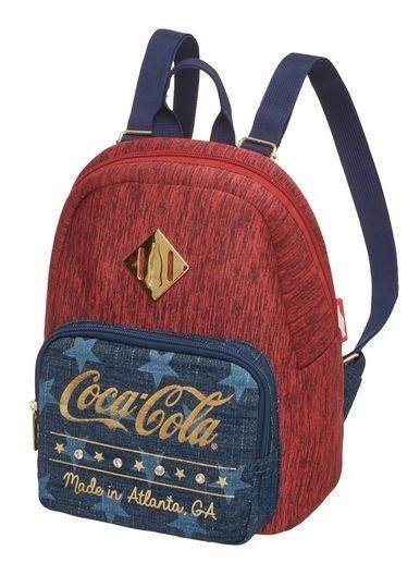 Mini Mochila Costas Coca Cola Stars - Pacific - 7840306