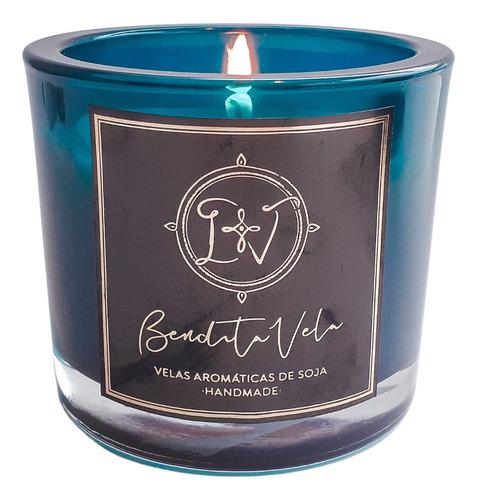Vela De Soja Aromática   Aroma Vanilla + Canela