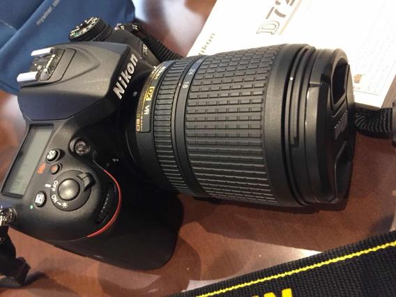 Câmera Nikon D7200 Lente 28-140mm
