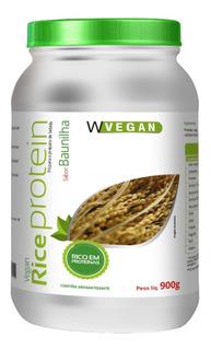 Whey Protein Vegetal 900g Proteina Arroz Ervilha