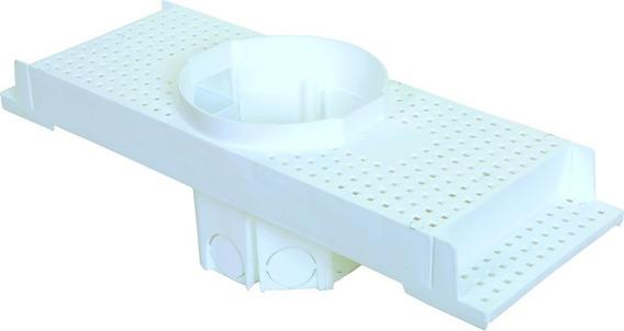 Caixa Embutir Spot Led P/ Laje Plafon 7w Par20 Plasled 4 Uni