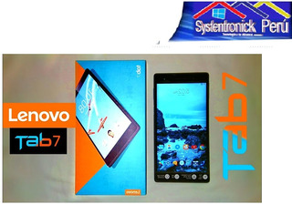 Tablet Lenovo Tab 7 Essential, 7 , Ips Touch, 1024x600, Andr
