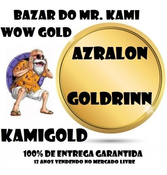 300k Gold Azralon Goldrinn Ouro Wow