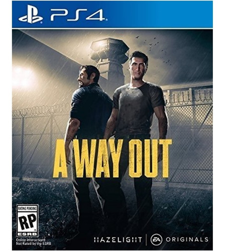 A Way Out Juego Ps4 Original + Garantía